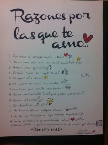Love. Letter. Reasons. Boyfriend. Love 4ever. Handmade.