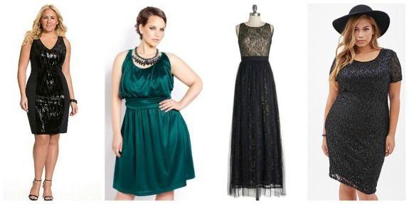 Sequin & Velvet Sheath Dress, $89.95 {here} | Draped Dress, $100.00 {here} | Stardust Melody Dress, $84.99 {here} | Sequined Sheath Dress, $27.90 {here}