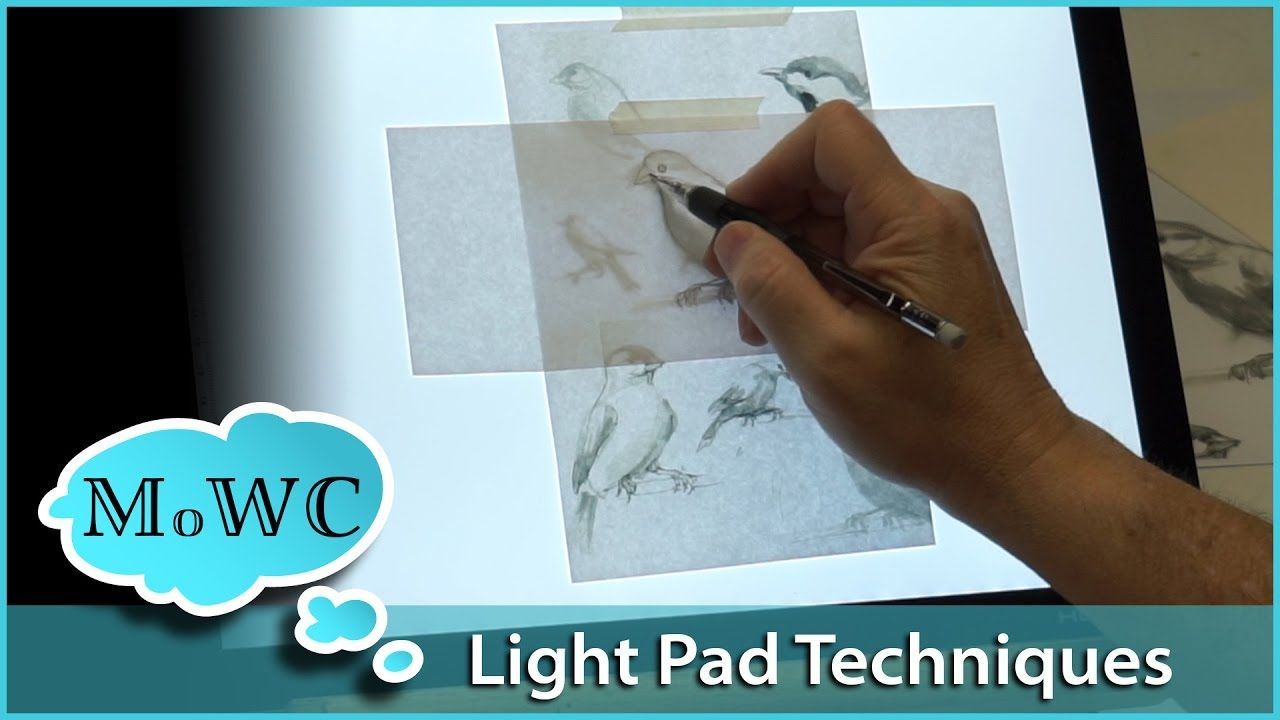 Huion L4S Light Pad Review + 3 Useful Tracing Tech