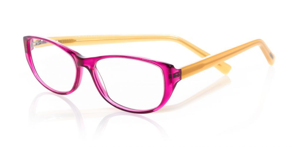 3a6282a33e96 A saucy little number.... eyebobs' Hanky Panky reader in a foxy new pink  and orange combo.