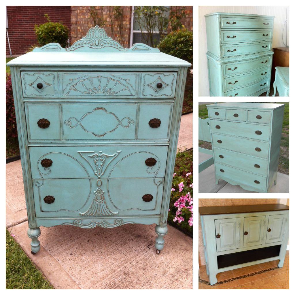 Painting furniture ideas distressed -