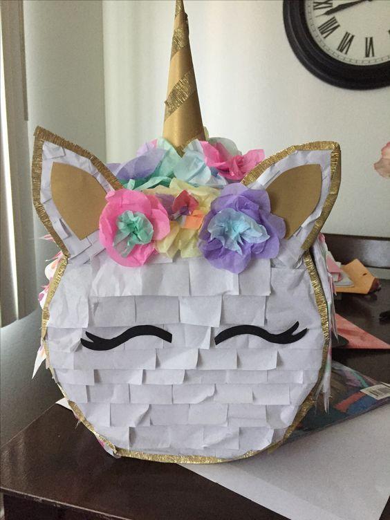 Ideas para organizar una fiesta de unicornio fiesta de for Decoracion para la pared de unicornio