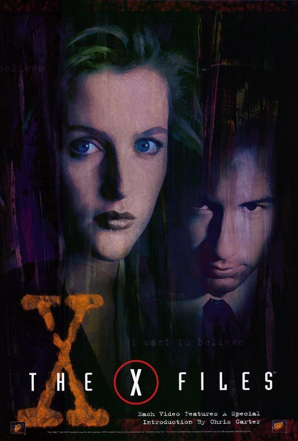The X Files 27x40 Movie Poster 1998 X Files David Duchovny Movie Posters