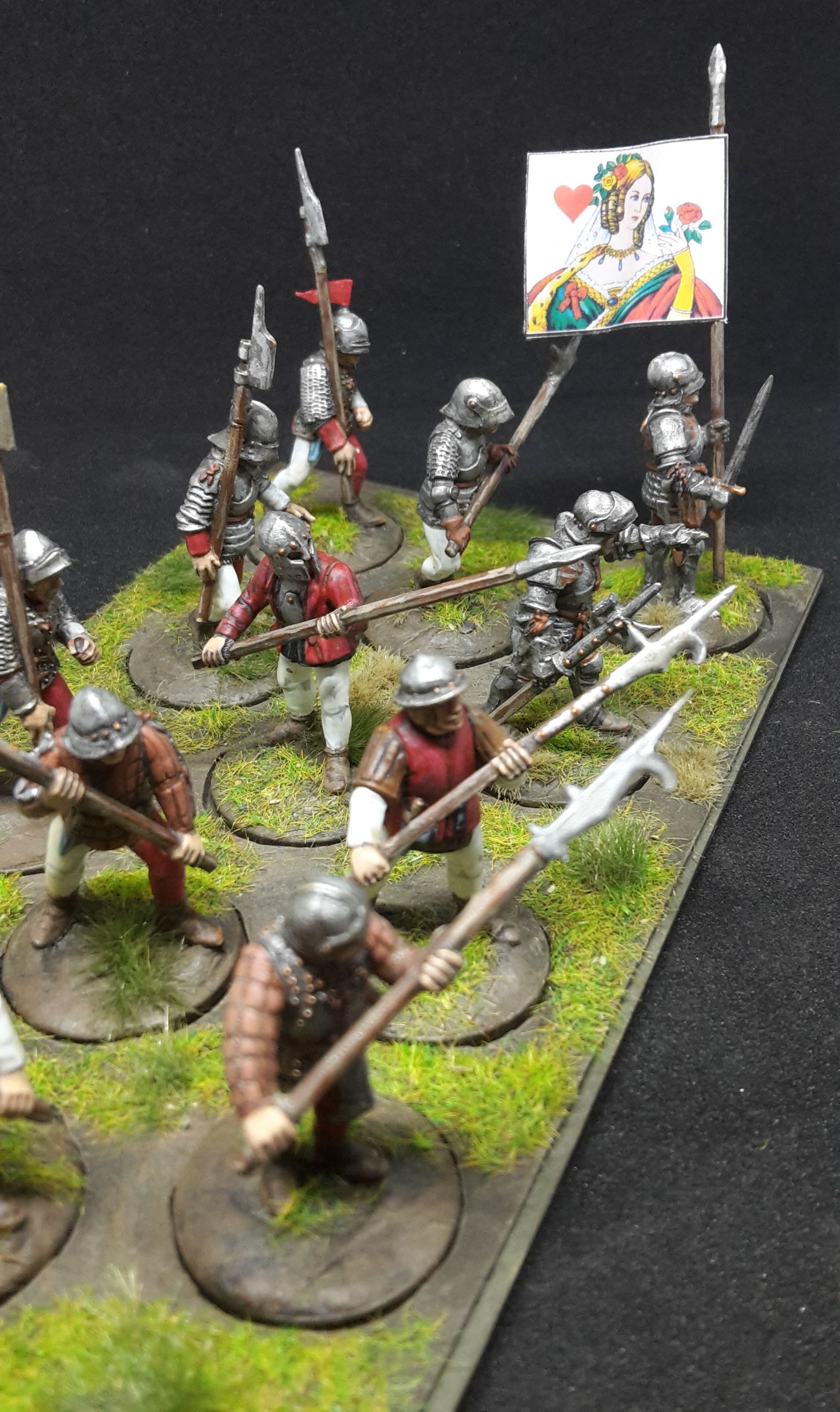 War Of The Roses (1455 1487) Men At Arms (Perry