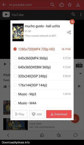 Download aplikasi vidmate apk Unduh musik dan video