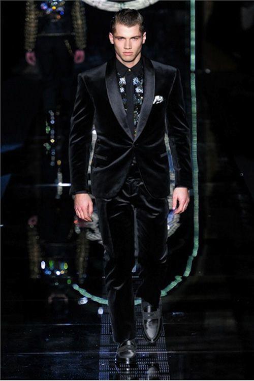 Versace velvet tux-work it! | Style for Male Clients | Pinterest ...
