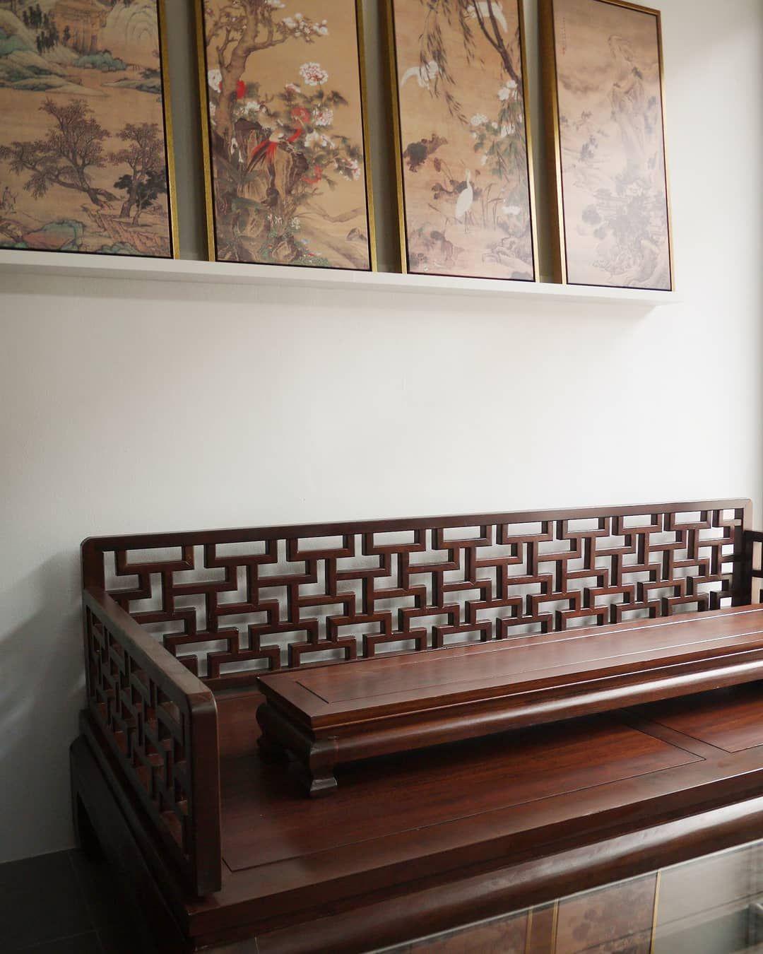 "Yong Furniture on Instagram: ""花格 'hua-ge' or lattice work has for century ...#century #furniture #huage #instagram #lattice #work #yong #花格"