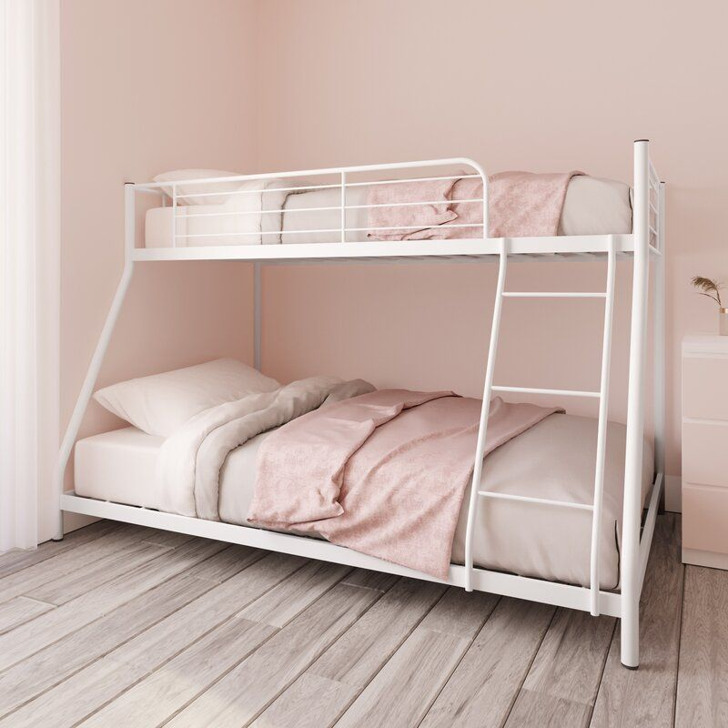 Metal Twin Over Full Bunk Bed Twin Over Full Bunk Bed Full Bunk Beds Bunk Beds