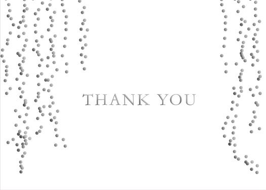 Preview image for product titled: Cascading Thank You