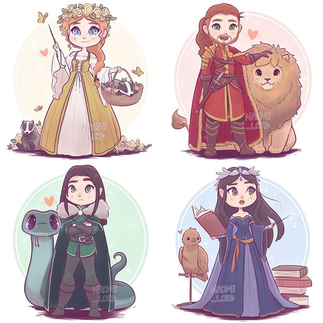 """Photo of Naomi Lord on Instagram: """"✨❤️??? All the Founders!! ???❤️✨ I'm half tempted to draw a bit more of them! Maybe some closer ups? ? what do y'all think? And whose your…"""""""