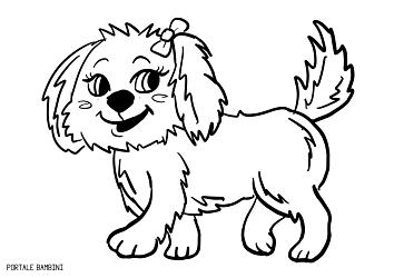 Cani Da Colorare Stampare.Giocate E Colorate Con I Nostri Cagnolini Da Stampare Disegni