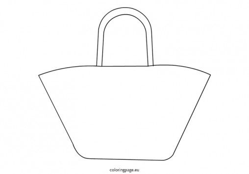 beach bag for coloring - Google Search