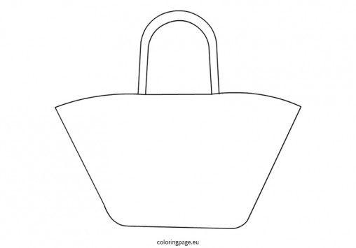 Beach Bag For Coloring Google Search Beach Bag Bags Beach Tote Bags