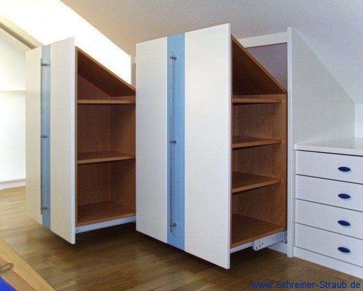 Möbel unter der Dachschräge | Schreiner Straub – bilder dekoration