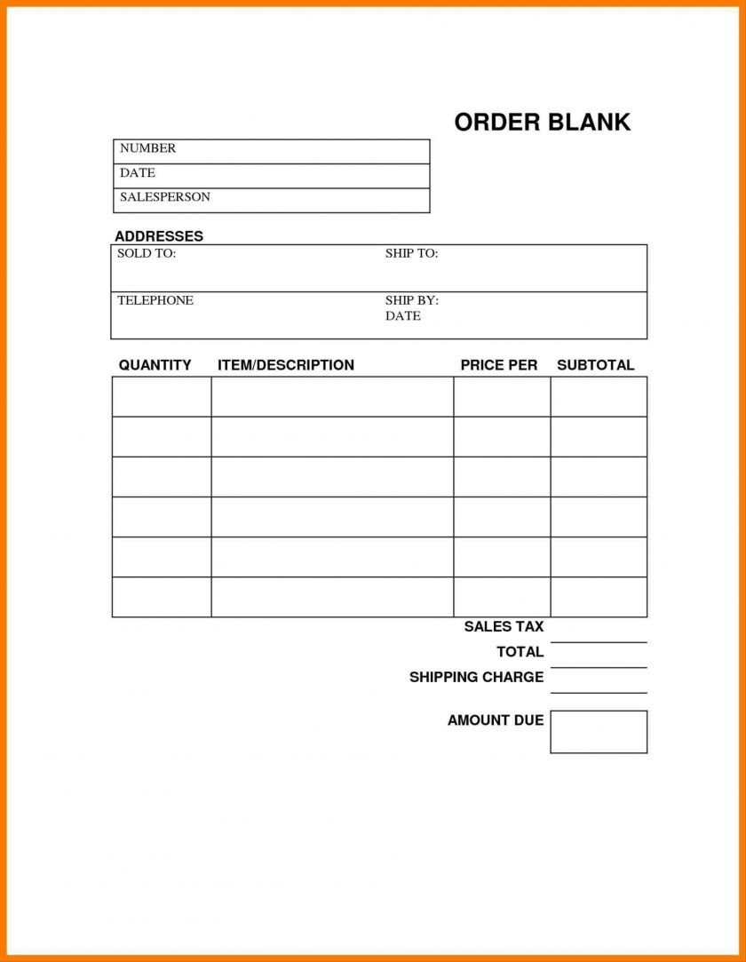 014 Blank Order Forms Templates Free Tamplate Pur Affidavit In Blank Legal Document Templa Purchase Order Template Order Form Template Order Form Template Free Free online order form template