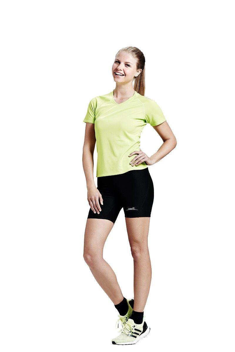 max-Q.com Basic Running Shirt | Damrn Laufshirts | 21run.com