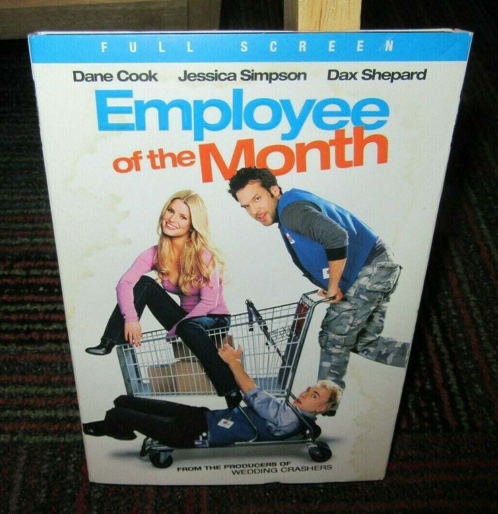 EMPLOYEE OF THE MONTH DVD MOVIE, JESSICA SIMPSON, DAX