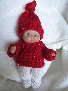 Glittery Xmas Sweater Set
