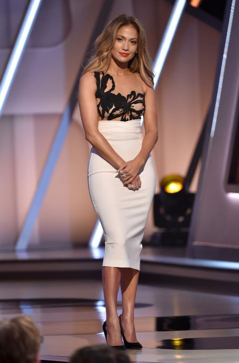 Jlo white dress us