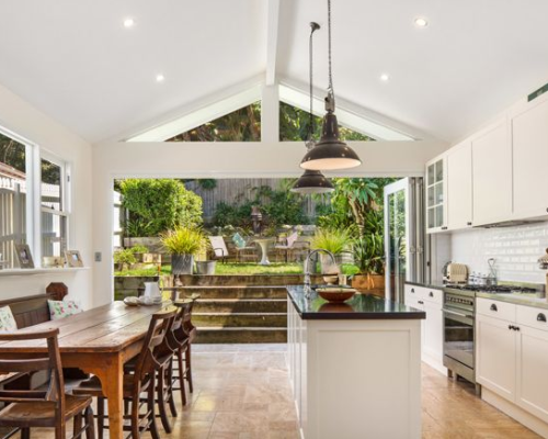 This Old Stomping Ground Indoor outdoor kitchen, Home