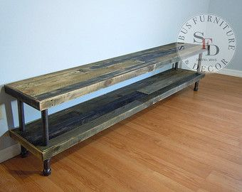 reclaimed wood tv stand pallet wood media stand by