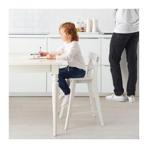Ingolf Kinderstuhl Weiss Unbedingt Kaufen Ikea Ikea