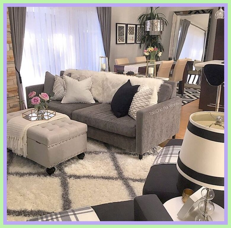 81 Reference Of Gray Couch Decorating Ideas In 2020 Grey Couch Decor Silver Living Room Black Living Room