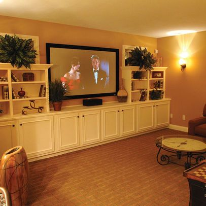 white built ins for basement basement photos built in cabinets design ideas pictures remodel. Black Bedroom Furniture Sets. Home Design Ideas