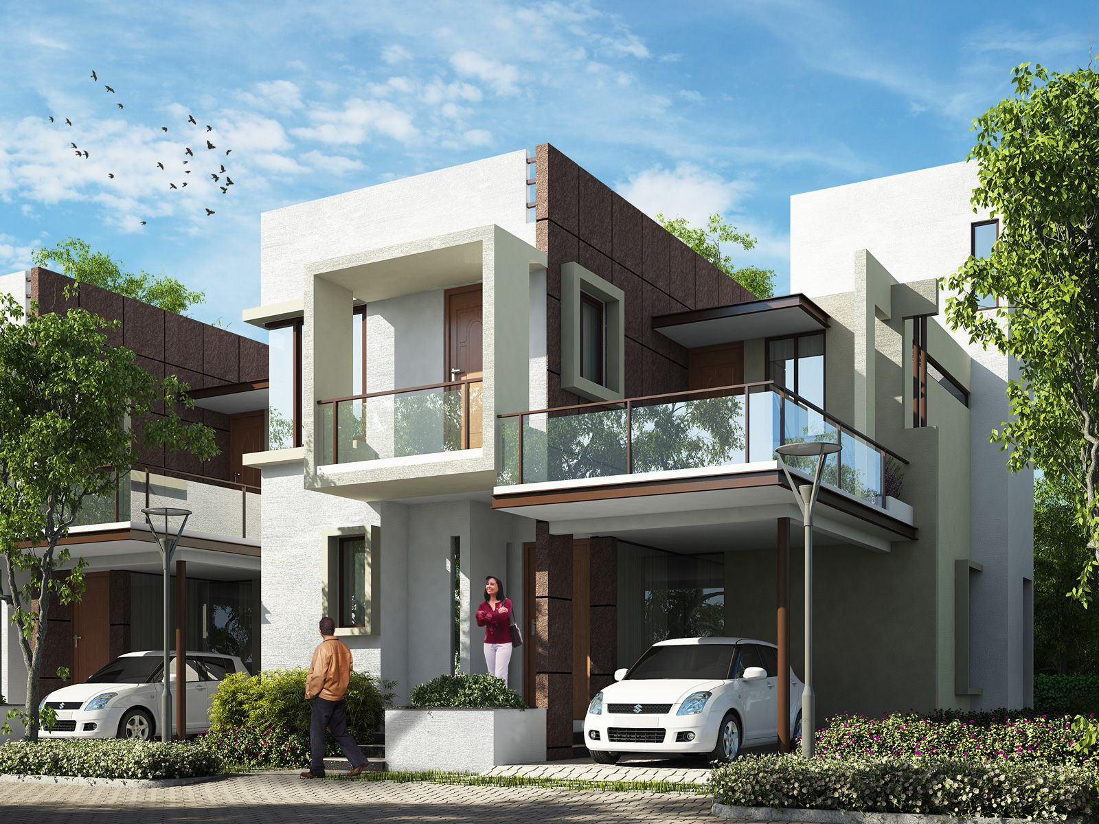 contemporary Kerala Home design trendy kerala contemporary home