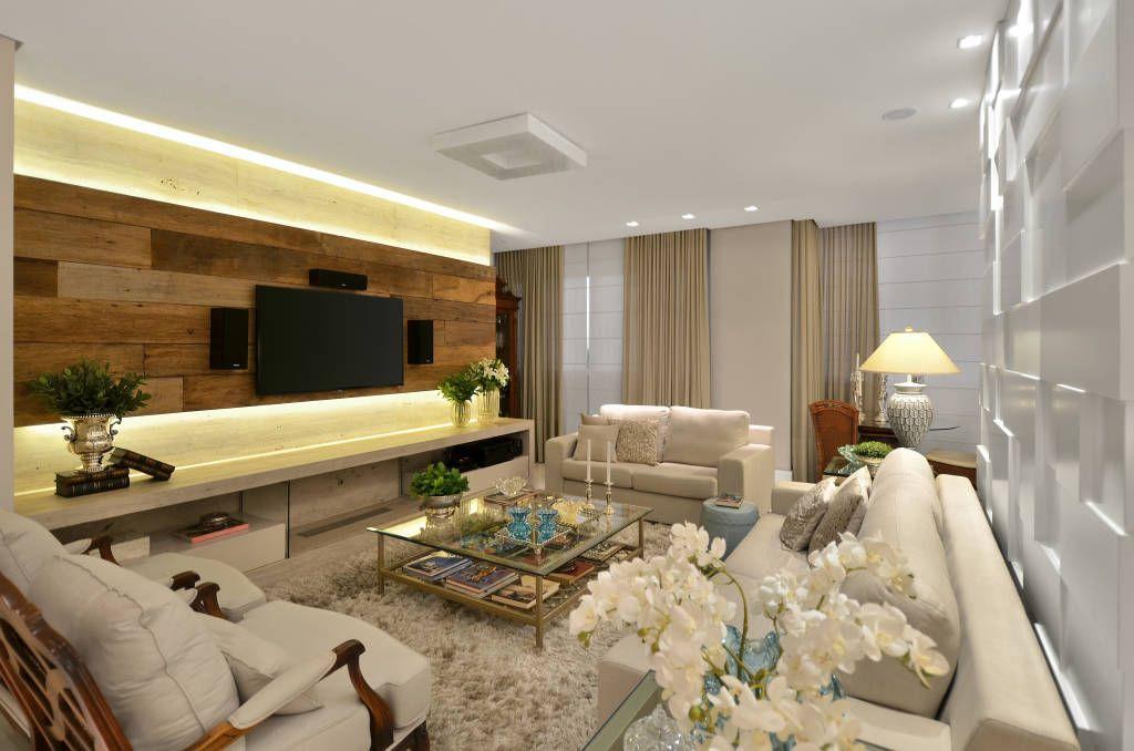 Sala de estar  S|R (De Redecker + Sperb arquitetura e decoração)