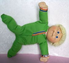"1985 CABBAGE PATCH KIDS 16"" doll with poseable GEAR -  coleco"