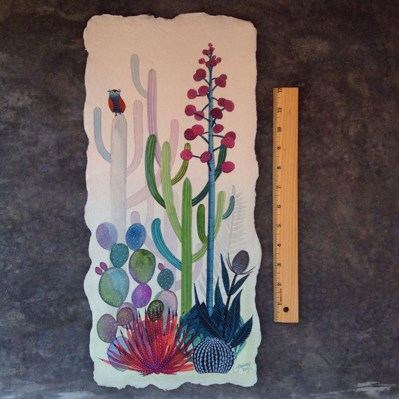 Image of Saguaros