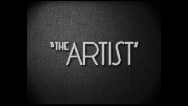 Generique The Artist Title 2011 By Laurent Brett Classic And Simple For The Now World Many Awarded Movie The Artist Movie Movie Titles Typography