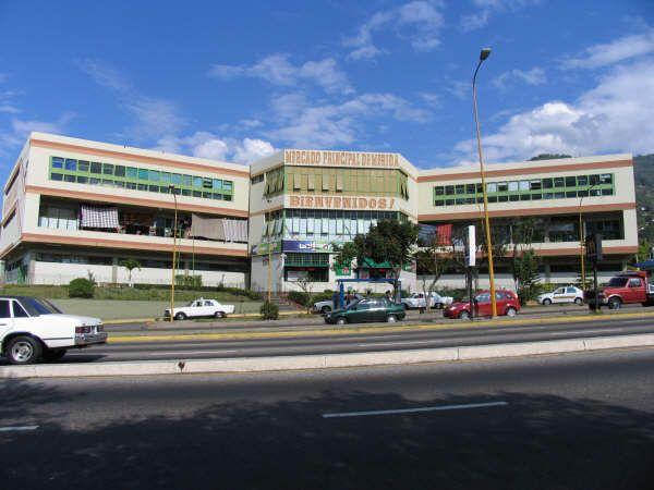 Mercado Principal, Mérida, Estado Mérida.