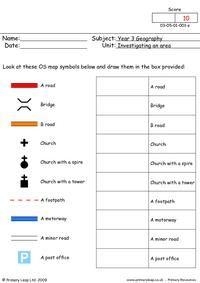 map symbols ks1 - Google Search | Grade Two- Socials | Pinterest ...