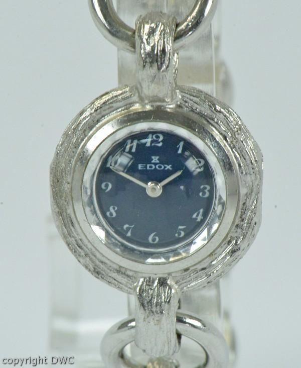 Armbanduhr 800 Dau Damen Silber Aus Handaufzug Ladys Edox In 8nOw0kPX