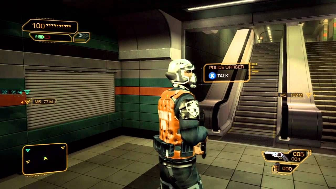 Deus Ex Human Revolution Walkthrough Part 7 Police Station
