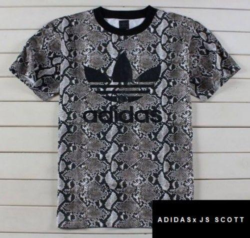 adidas snake print shirt