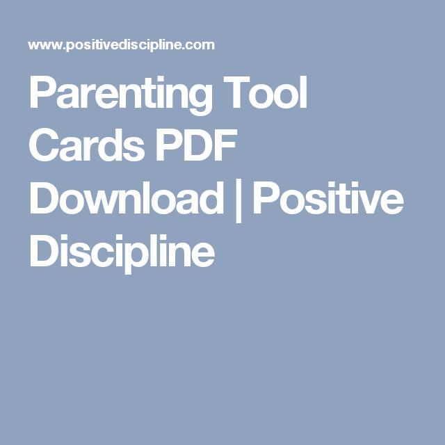 Parenting tool cards pdf download positive discipline mom and parenting tool cards pdf download positive discipline fandeluxe Images