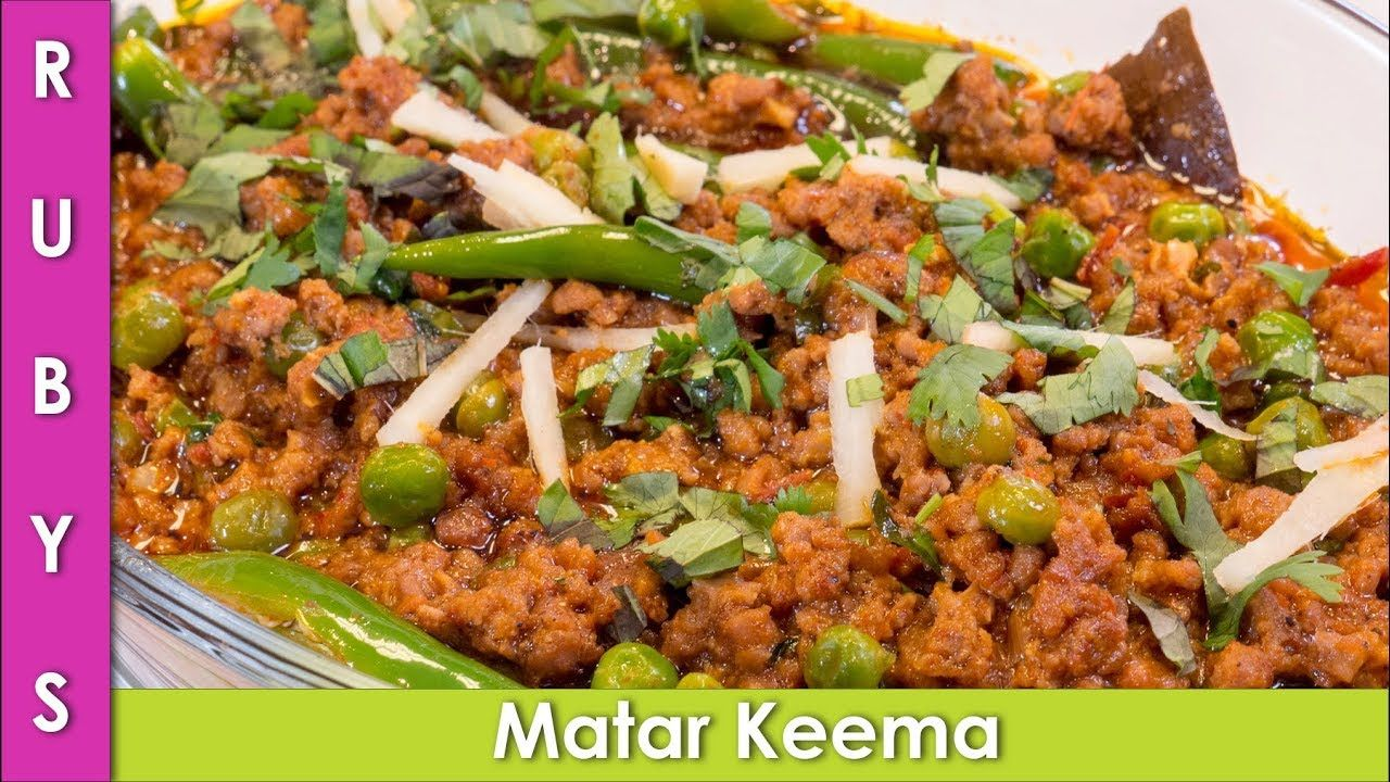 Matar Keema 10 Minute Mutton Queema Recipe In Urdu Hindi Rkk Youtube Recipes Desi Food