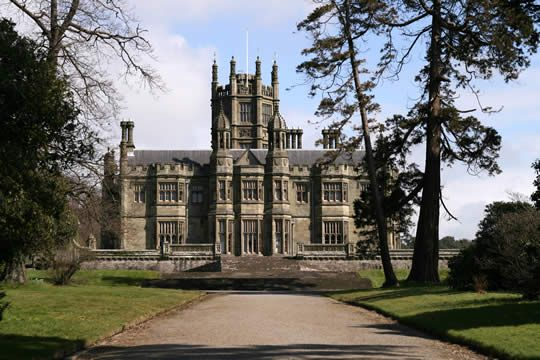 Tudor Gothic Style Mansion House