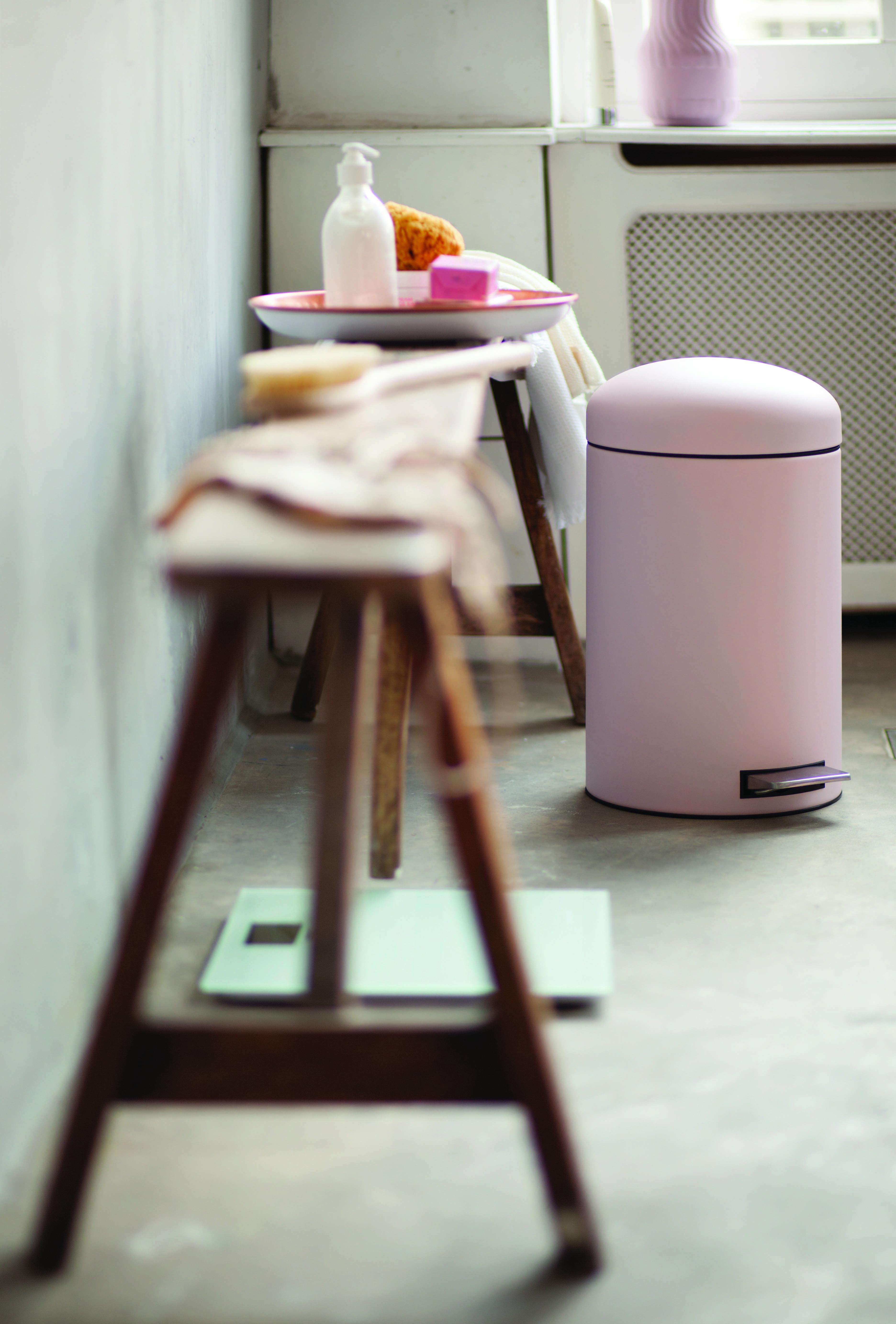 Brabantia Retro Treteimer In Der Farbe Rosa Badezimmer Zimmer Echt Jetzt