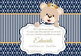 Image Result For Tarjeta De Invitacion Osito Principe Baby