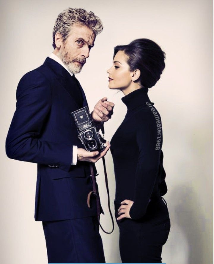 Peter Capaldi and Jena. Beautiful Photo #12doctor