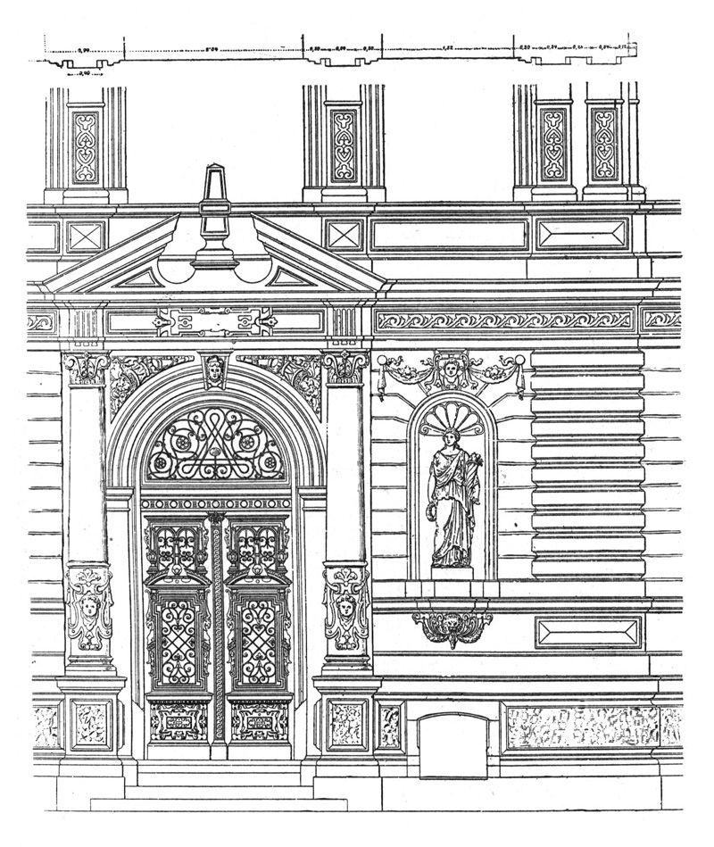 Рисунки в картинках на фасады
