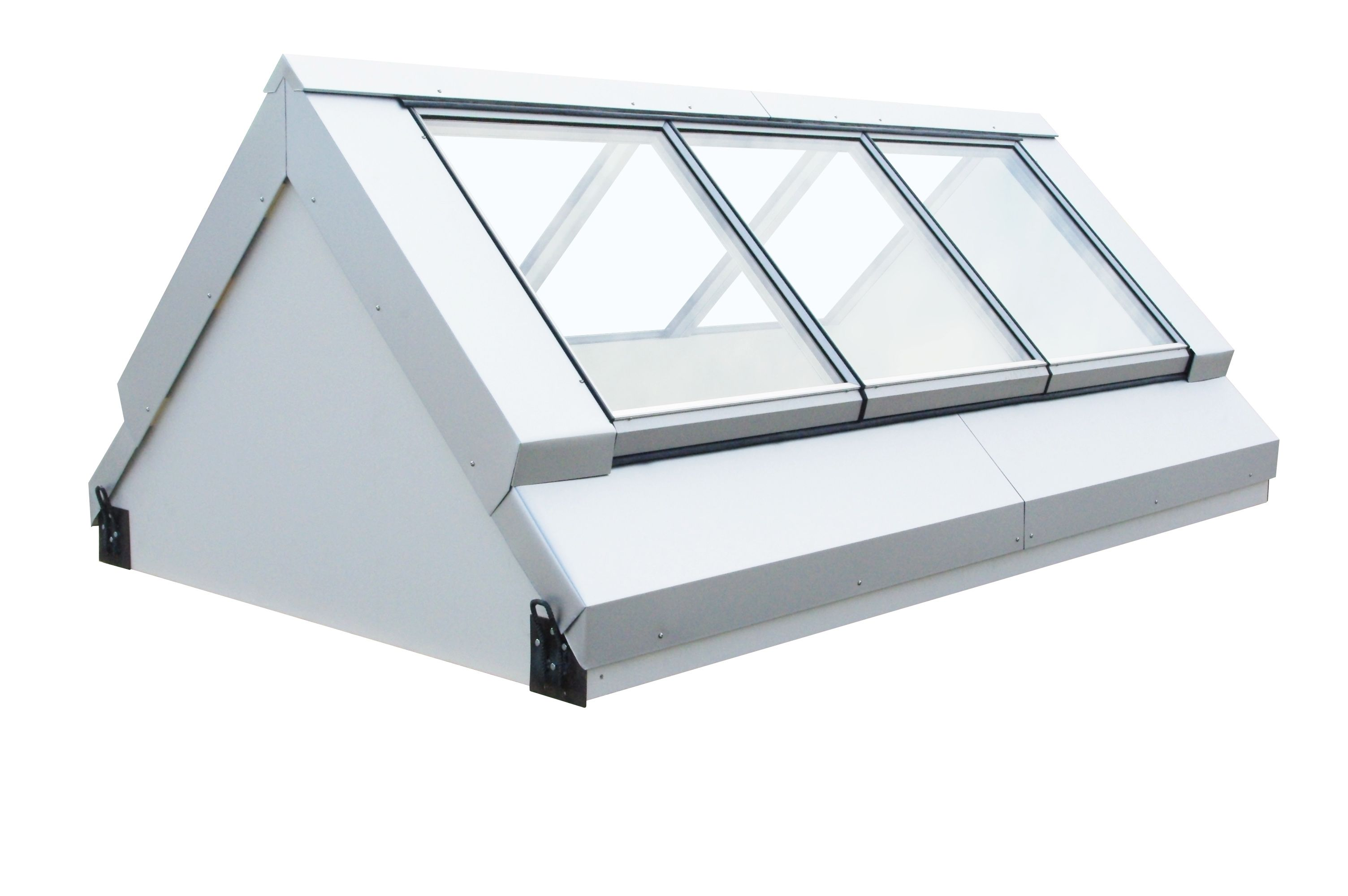 Vitralight Is The Cost Effective Easy To Install Very High Insulation Factory Sealed Thermally Broken A74 Aluminium Roof Light Solution For Flat Roofs Vi
