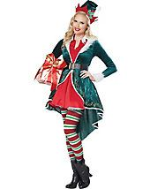 Sexy Elf Women's Costume - elf-costumes - christmas