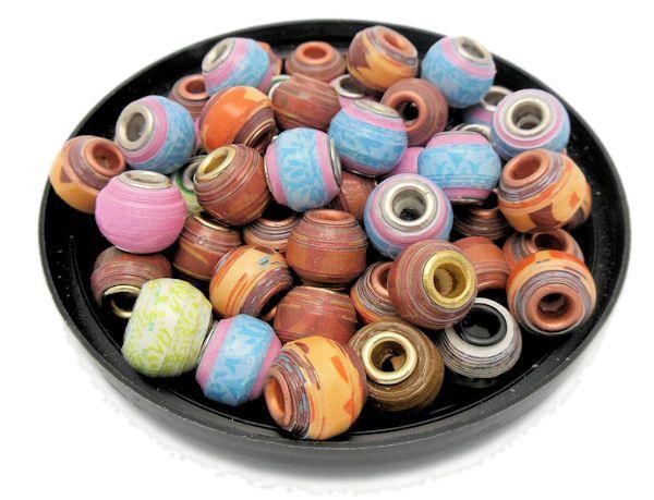 Free ♥ Tutorial of how to make Pandora Inspired Paper Beads