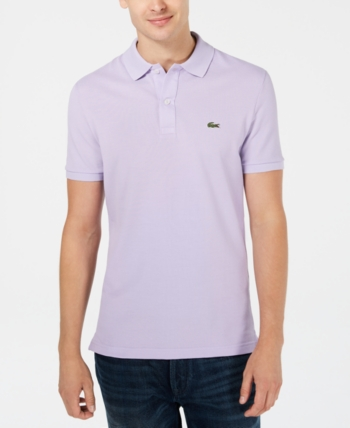71f375d929c6 Lacoste Men s Slim-Fit Polo - Blue 4XL in 2019