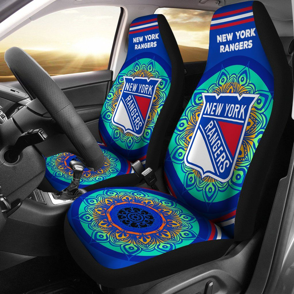 Magical And Vibrant New York Rangers Car Seat Covers New York